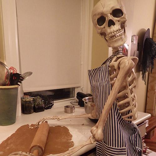 Skeletons of Vivian Line  Stratford Ontario